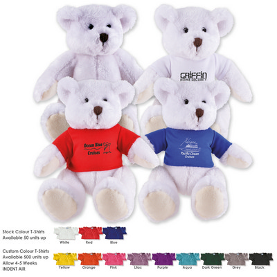 Picture of Frosty Plush Teddy Bear