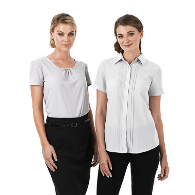 Picture of Ladies Verona Short Sleeve  Business Shi