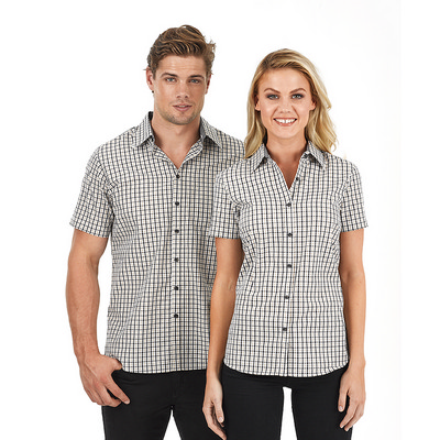 Picture of Mens Hudson Short Sleeve  Business Shirt