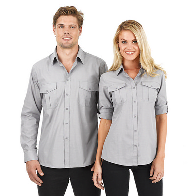 Picture of Ladies Jasper Long Sleeve Business Shirt