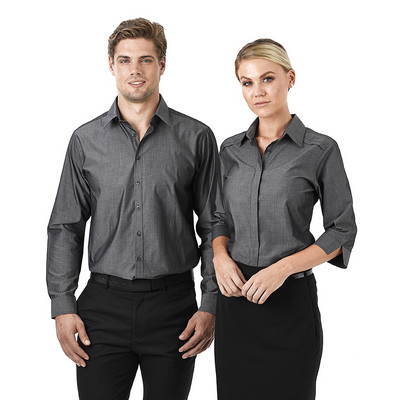 Picture of Mens Felix Long Sleeve  Business Shirt