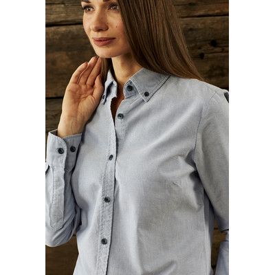 Picture of Ladies Reuben Long Sleeve  Business ShirtBusiness Shirts