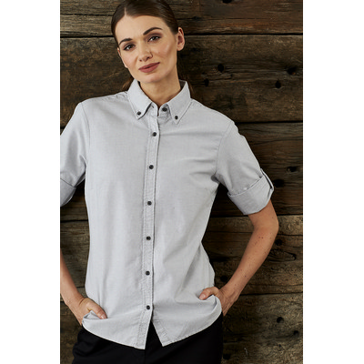 Picture of Ladies Reuben 34 Sleeve  Business Shirt