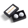Titleist 2-Ball Business Card Box - Titl