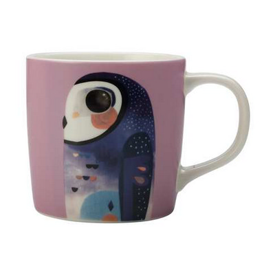 Picture of M&W Pete Cromer Mug 375ML Owl Gift Boxed