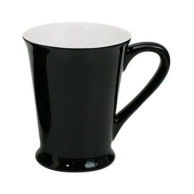 Picture of Florence Mug Gloss Black / White
