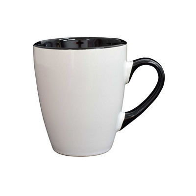 Picture of Madrid Mug White / Black