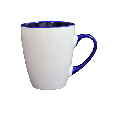 Picture of Madrid Mug White / Cobalt