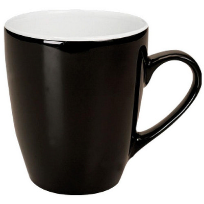 Picture of Madrid Mug Gloss Black / White