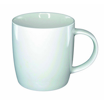 Picture of Ariston New Bone Barrel Mug - White