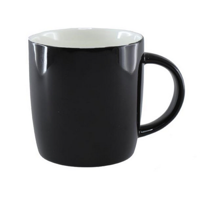 Picture of Ariston New Bone Barrel Mug - Black / Wh