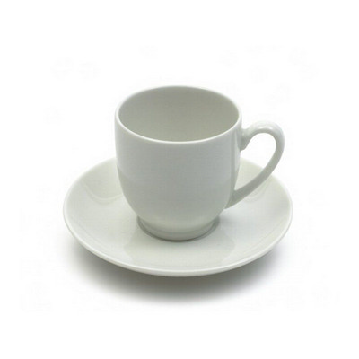 Picture of White Basics Demi Cup & Saucer