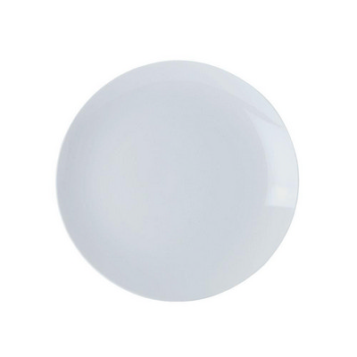 Picture of White Basics Coupe Entree Plate