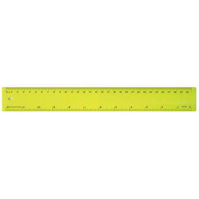Picture of Ruler 30cm Fluro Yellow