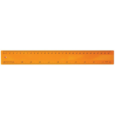 Picture of Ruler 30cm Fluro Orange
