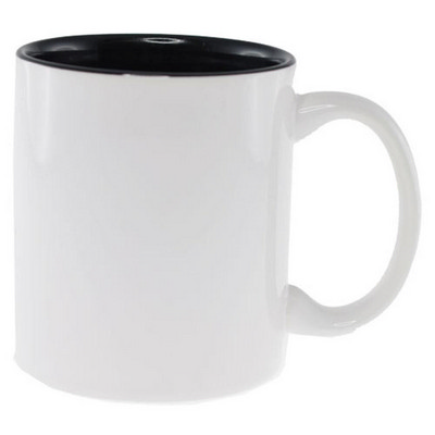 Picture of Sublimation Classic Can Mug White/Black