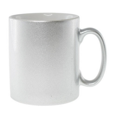 Picture of Sublimation Classic Can Mug Silver/White