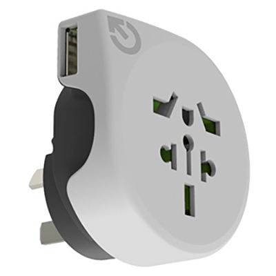 Picture of World to Australia Travel Adaptor with U