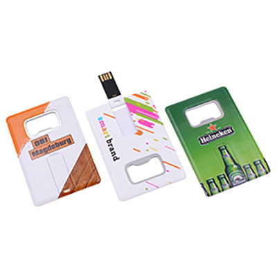 Picture of BottlO Credit Card Flash Drive 1GB