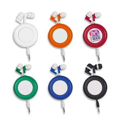 Picture of Retro Retractable Ear Buds