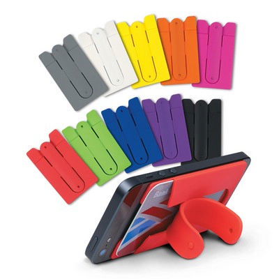 Picture of Silicone Phone Stand Wallet