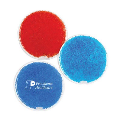 Picture of Round Gel Beads Hot/Cold Pack