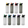 Triton Elite Drink Bottle - Clear and Bl