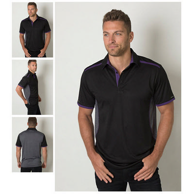 Picture of Mens Cooldry Heather and Sports Interloc