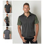 Mens Cooldry Heather and Sports Interloc