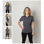 Ladies Cooldry Heather Fabric Polo