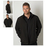 Mens 3 Layer Soft Shell Full Zip Jacket