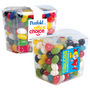 Assorted Colour Mini Jelly Beans in Clea