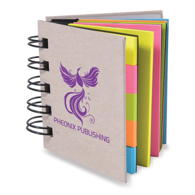 Picture of Spiral Book with Noteflags