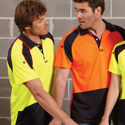 Picture of Mens Energy Microfibre Polo S/S