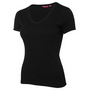 JBs Ladies V-Neck Rib Tee