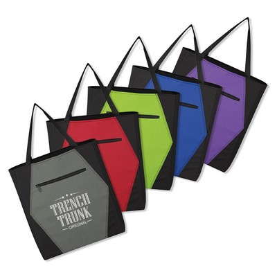 Picture of Two Tone Hexagon Tote Bag