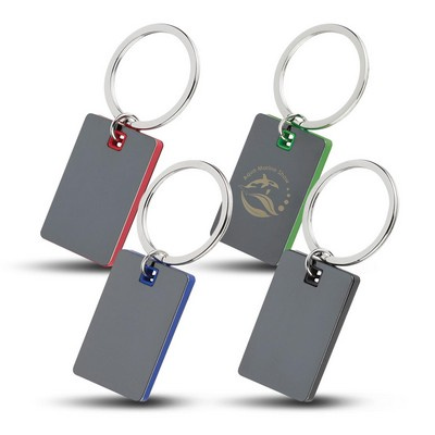 Picture of Colour Block Mirrored Key Tag