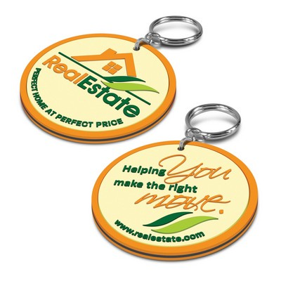 Picture of PVC Key Ring - Double Sided