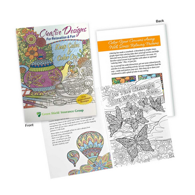 Picture of Adult Colouring Book