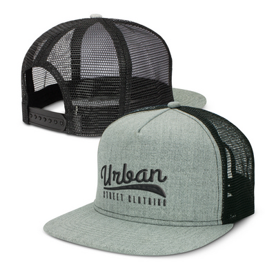 Picture of Jackson Premium Flat Peak Trucker Cap