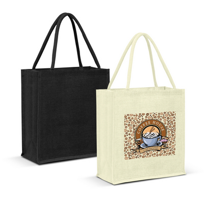 Picture of Lanza Jute Tote Bag - Colour Match