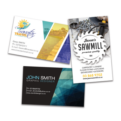 Picture of Full Colour Business Cards