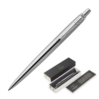 Picture of Parker Jotter Ballpoint Pen - Brushed St