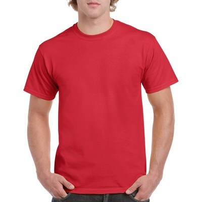 Picture of Gildan Heavy Cotton Adult T-Shirt Colours100% Cotton Preshrunk Jersey Knit (Fibre