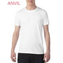 Anvil Adult Tri-Blend Tee White