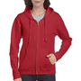 Gildan Heavy Blend Ladies Full Zip Hoode
