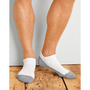 Gildan Platinum Men's No Show Socks White66% Cotton / 32% Polyester / 1% Nylon /