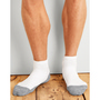 Gildan Platinum Men's Ankle Socks White