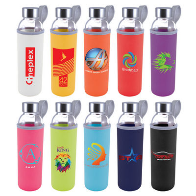 Picture of Capri Glass Bottle with Neoprene Sleeve