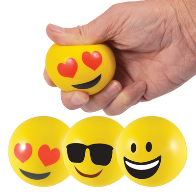 Picture of Emoji Stress Ball Reliever